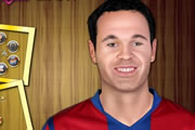 Andrés Iniesta Make Up